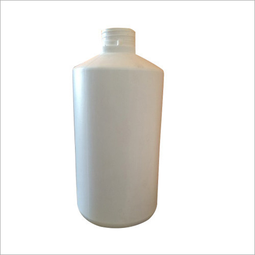 1 Litre Plastic White Bottle