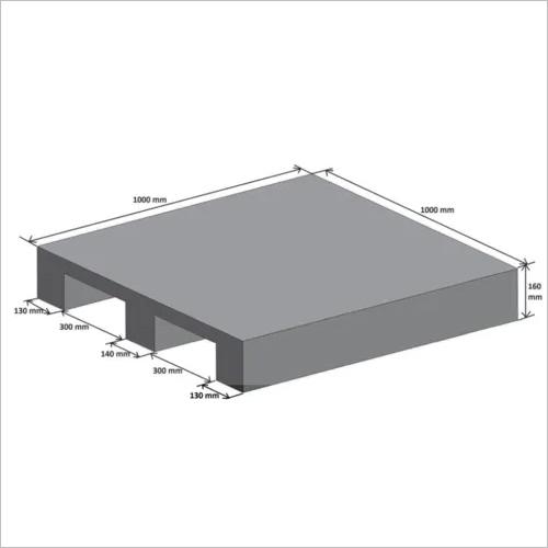 Plastocon Plain Top Pallet