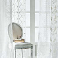 White Curtain Fabric