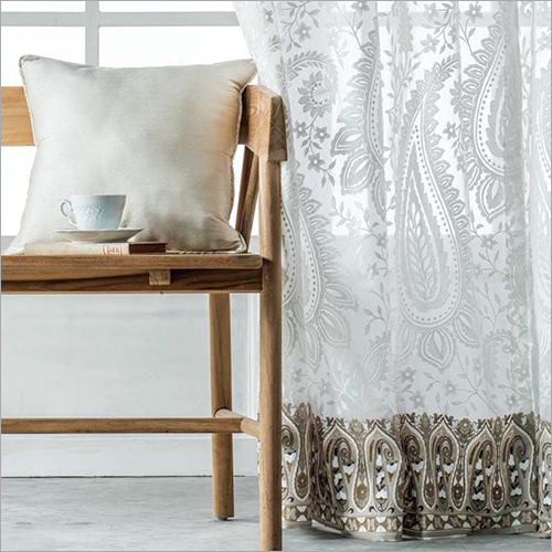 Embroidered Curtain Fabric
