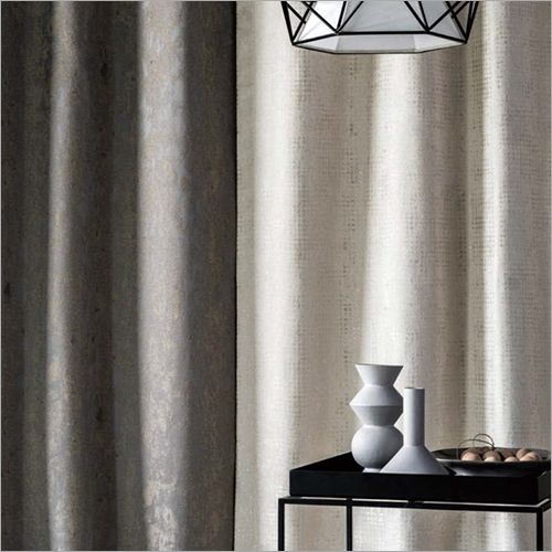Plain Window Curtain Fabric