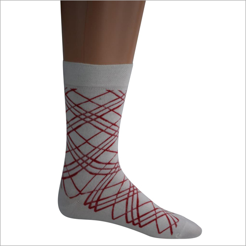 Mens Cotton Argyle Socks