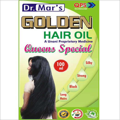 Golden Hair Oil