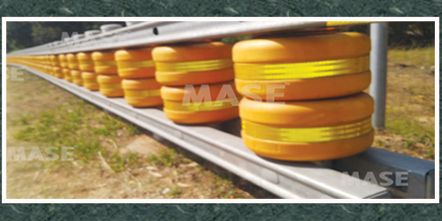 Median safety roller Barrier