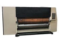 Corrugated Flexo Printing And Die Cutting Machine , 3 Color Flexo Corrugated Machine