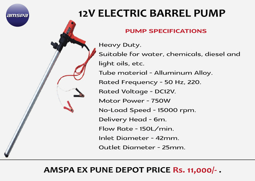 Electric Barrel-Pump