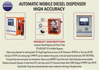Automatic Mobile Disel Dispenser High Accuracy