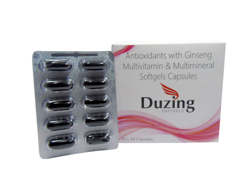 Multivitamins and Multiminerals softgel capsules