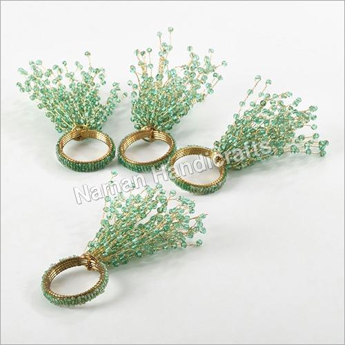 Copper Beaded Ring
