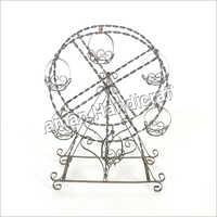 Silver Planter Wheel