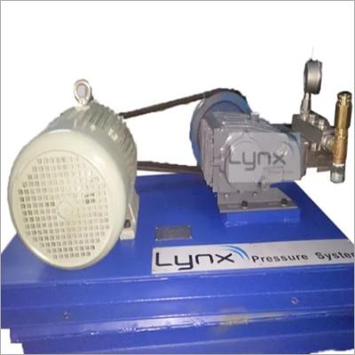 Triplex Plunger High Pressure Hydro Test Pump