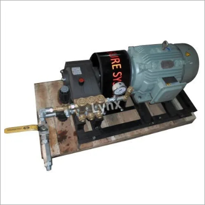 200 Bar Hydrostatic Pressure Test Pump