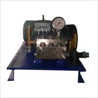 Electric Hydro Testing Pump