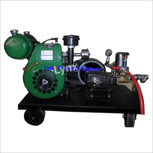 Engine Operated Hydro Test Pump