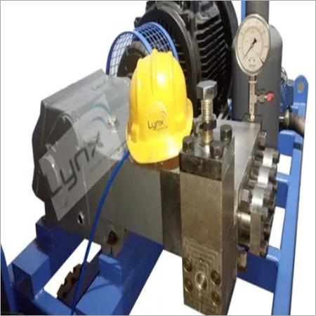 High Pressure Triplex Plunger Hydrotest Pump
