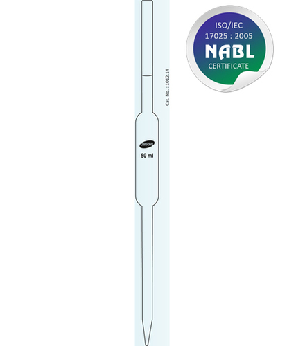 Pipette Volumetric NABL Certified