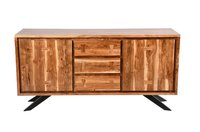Wrough Wood Side table