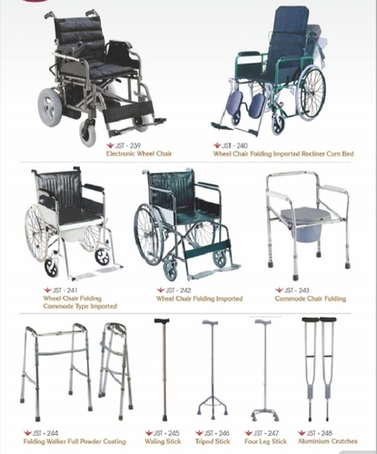Wheel Chair & Sticks