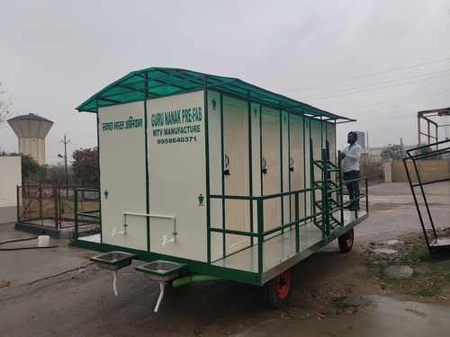 10 Seater Mobile Toilet Van