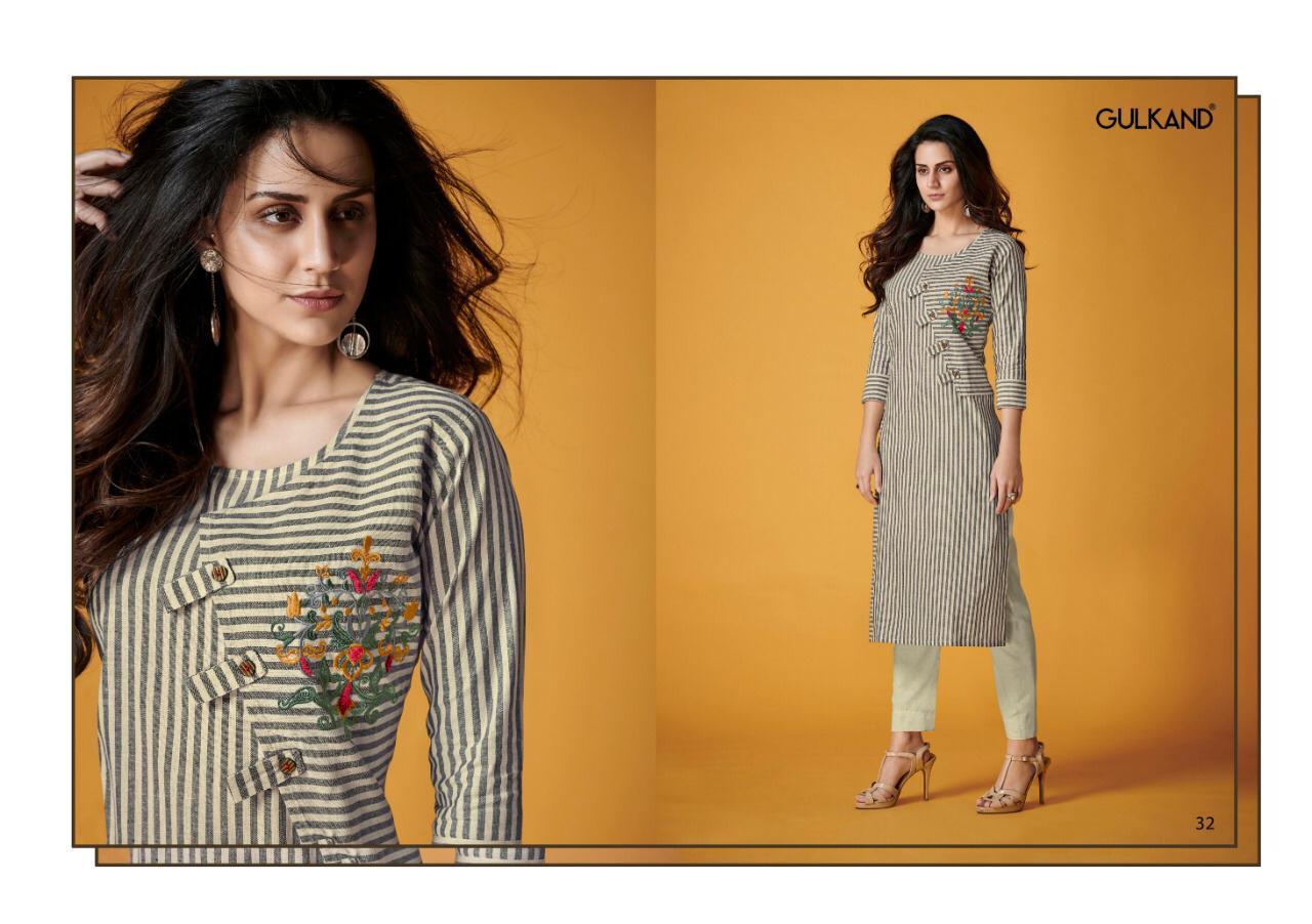 Handloom cotton kurtis with pants