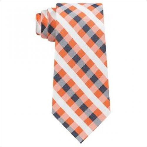 Small Check Neck Tie