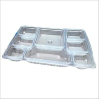Multi Compartment Food Packaging Plastic Tray