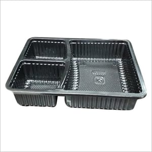 PP Food Disposable Plastic Tray