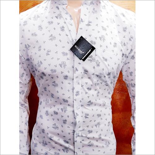 Mens Casual White Shirt
