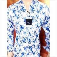 Blue White Shirt