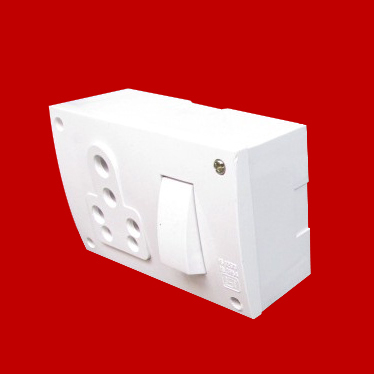 16A Combined Switch Socket