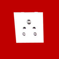 Electrical White Plug Socket