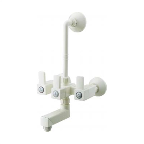 15 mm L Bend Wall Plastic Sink Mixer