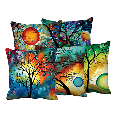 Coloured Digital Printed Cushions