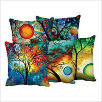 Coloured Digital Printed Cushions