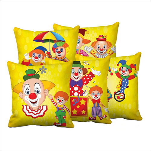 Cartoon Print Digital Cushions