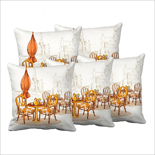 White Digital Cushions