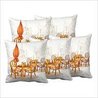 White Digital Cushions