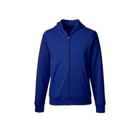 Mens Zipper Plain Sweatshirts