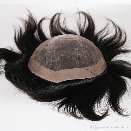 Men Human Hair Wig