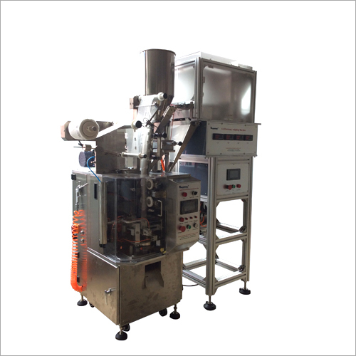 Double Systems Tea Bag Packing Machine