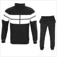 Mens Black Tracksuit