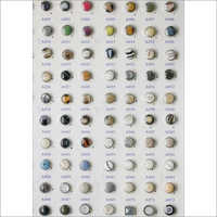 Polyester Pots Button