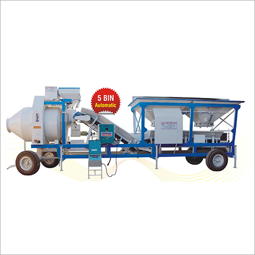 Concrete Batching Plant And Machine
