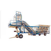Pan Mixer Concrete Batching Machine
