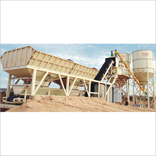Fully Automatic Twin Shaft Mixer