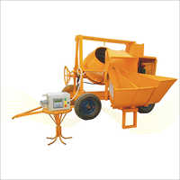 Concrete Mixer with Digital Weigh Batcher ( Hopper Mixer )