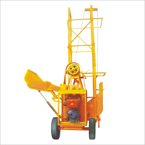 Concrete Mobile Hoist with Digital weigh batcher