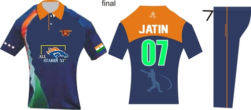 Promotional SUBLIMATION CRICKET DRESS