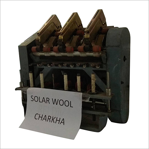 Solar Wool Charkha