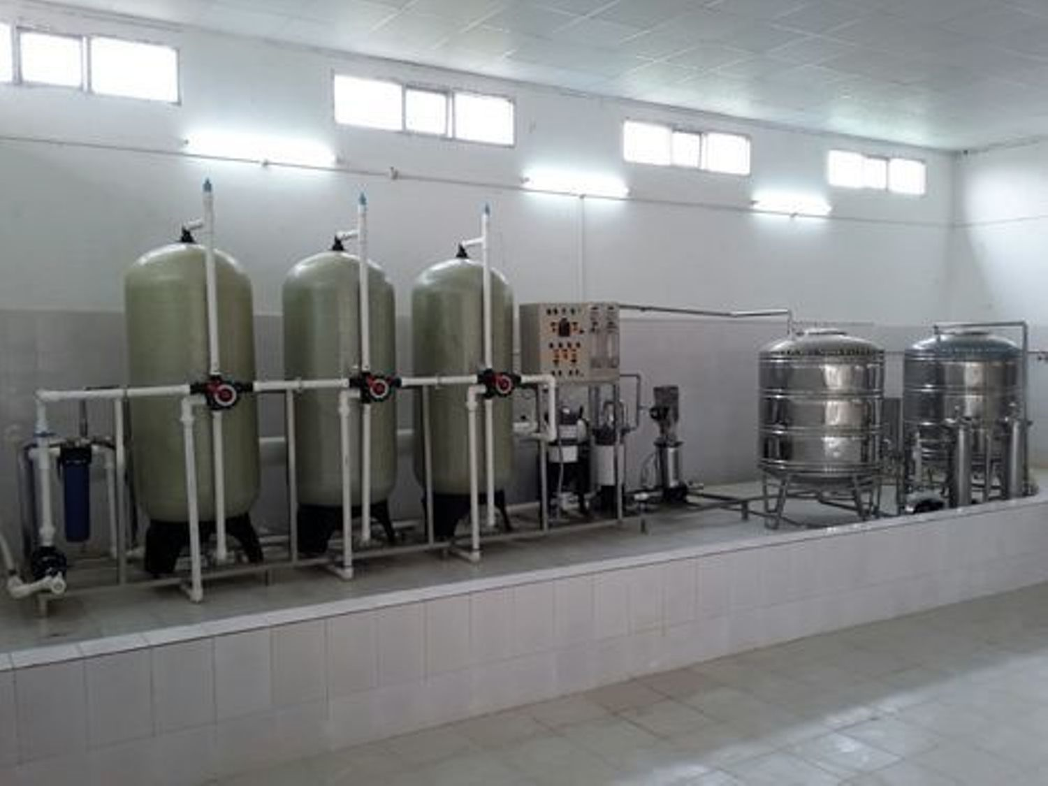 Packaged Drinking Water Plant